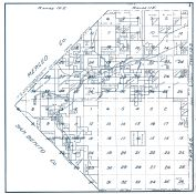 Sheet 001 - Townships 13 and 14 S., Ranges 10 and 11 E., Mercy Hot Springs, Panoche Creek, Fresno County 1923